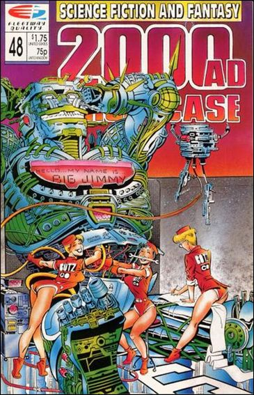 2000 A.D. Showcase (1988) 48-A by Quality Comics