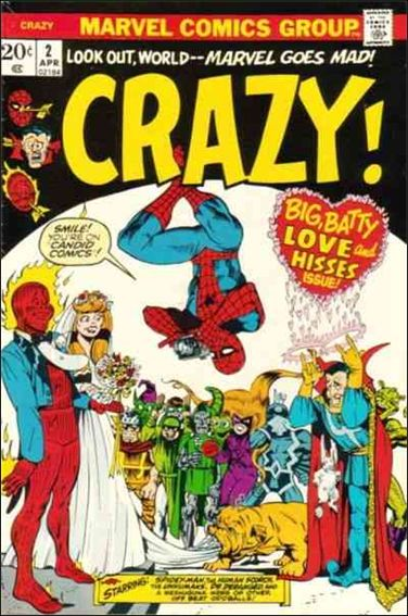 Crazy (1973/02) 2-A by Marvel