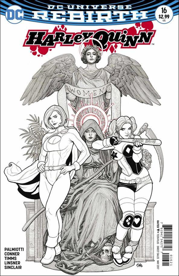 Harley Quinn (2016) 16-B by DC