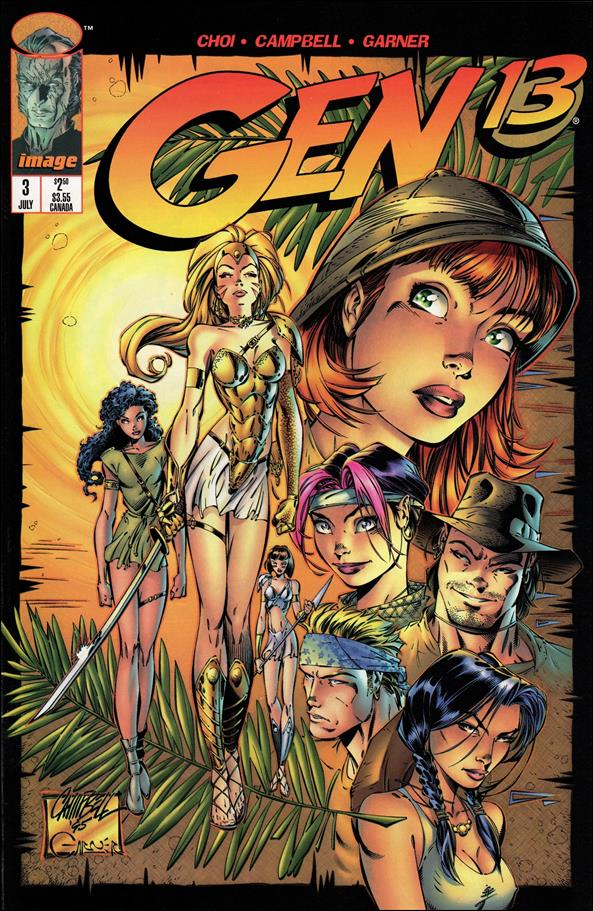 Gen13 (1995) 3-A by WildStorm