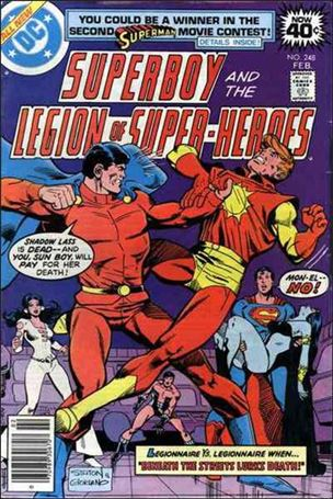Superboy & the Legion of Super-Heroes 248-A