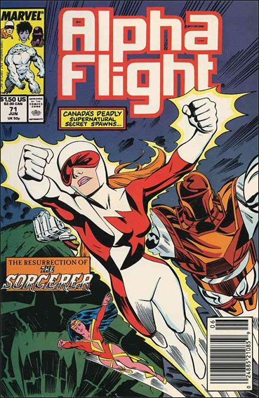Alpha Flight (1983) 71-A by Marvel