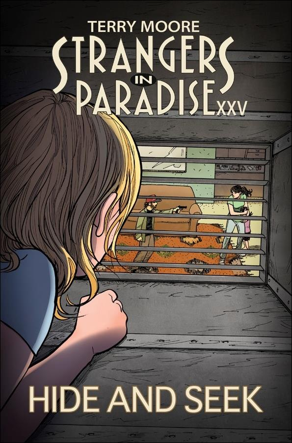 Strangers in Paradise XXV 2-A by Abstract Studio