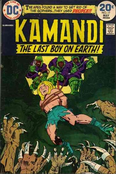 Kamandi, the Last Boy on Earth 17-A by DC