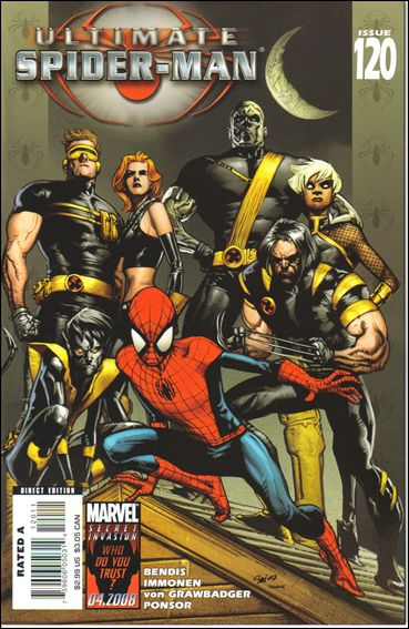 Ultimate Spider-Man (2000) 120-A by Marvel