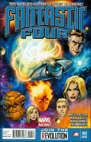 Fantastic Four (2013) 2-C by Marvel