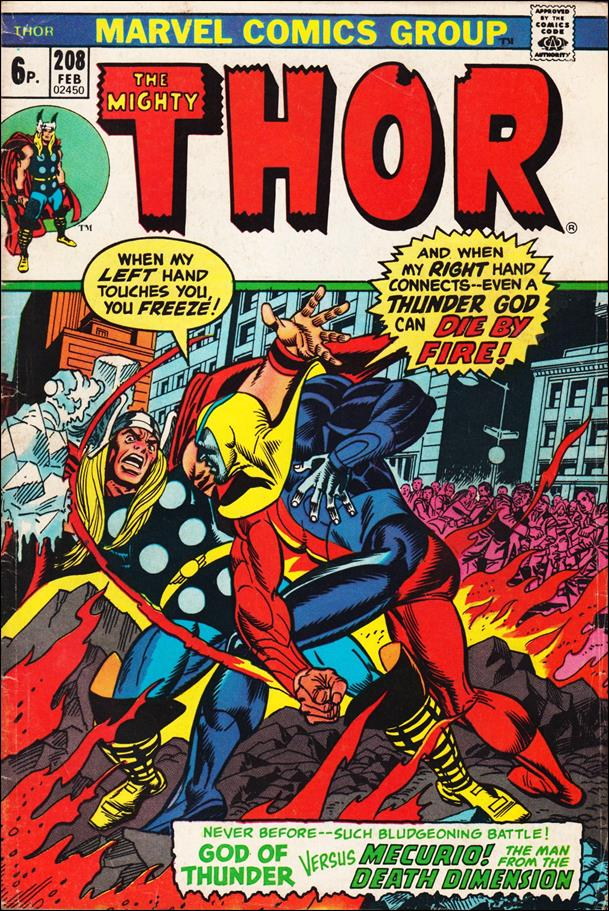 Thor (1966) 208-B by Marvel