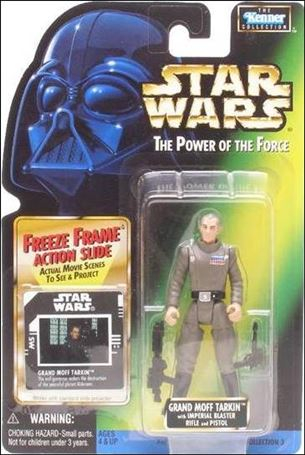 "Star Wars: The Power of the Force 2 3 3/4"" Basic Action Figures Grand Moff Tarkin w/ Freeze Frame"