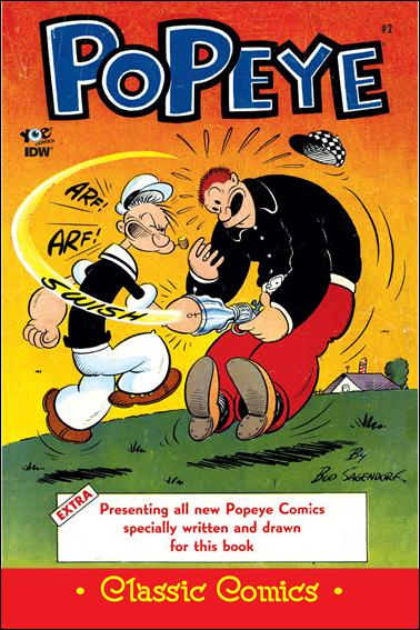 Classic Popeye 2-A by IDW