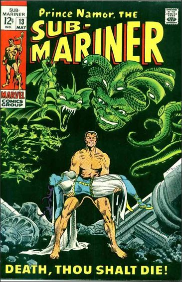 Sub-Mariner (1968) 13-A by Marvel