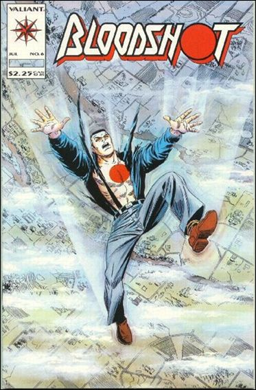 Bloodshot (1993) 6-A by Valiant