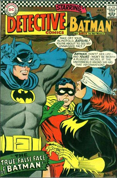 Detective Comics (1937) 363-A by DC