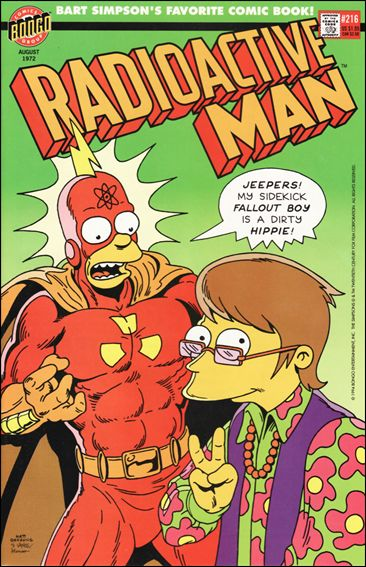Radioactive Man (1993) 216-A by Bongo