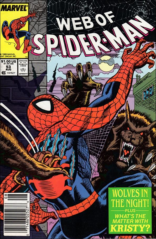 Web of Spider-Man (1985) 53-A by Marvel