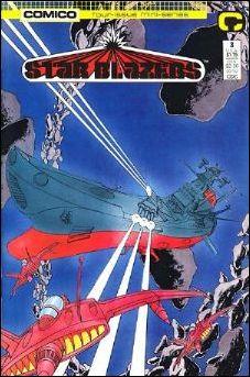 Star Blazers (1987) 3-A by Comico