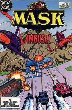Mask (1987) 3-A by DC
