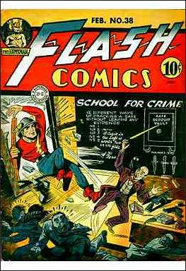 Flash Comics (1939) 38-A by DC