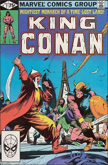 King Conan 7-A by Marvel