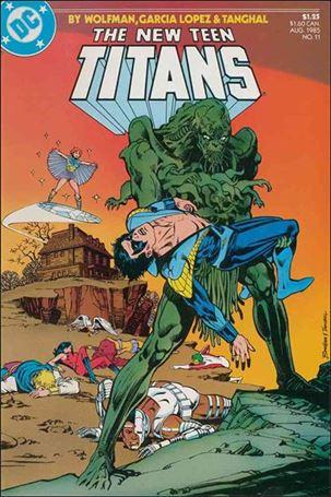 New Teen Titans (1984) 11-A
