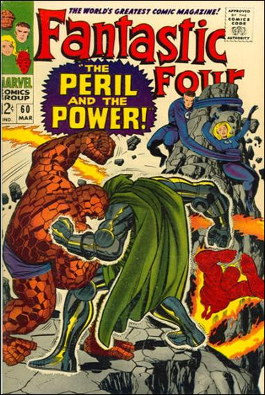 Fantastic Four (1961) 60-A by Marvel