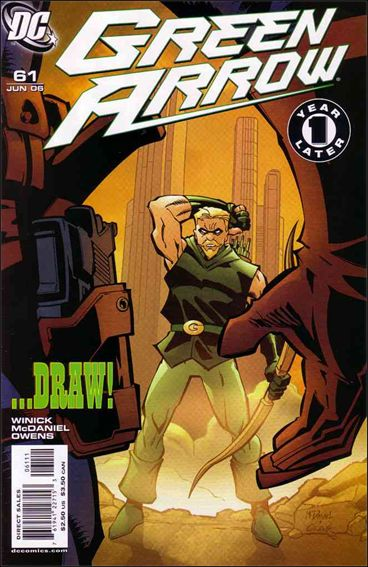 Green Arrow (2001) 61-A by DC