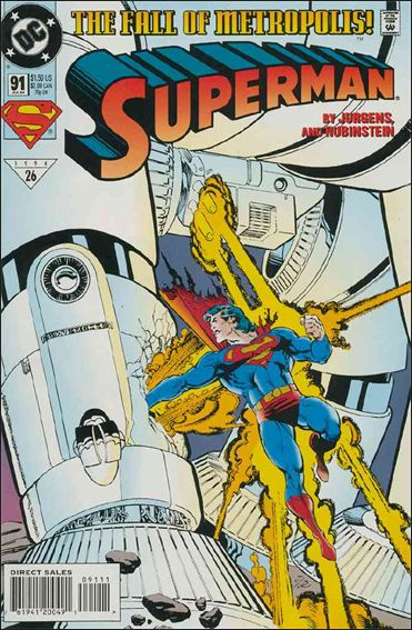 Superman (1987) 91-A by DC