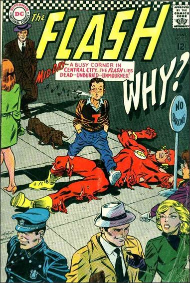 Flash (1959) 171-A by DC