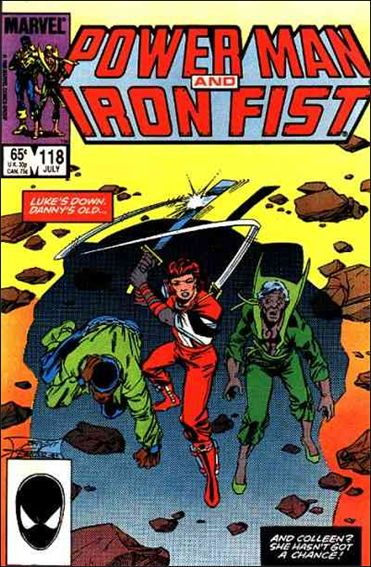 Power Man and Iron Fist (1978) 118-A by Marvel