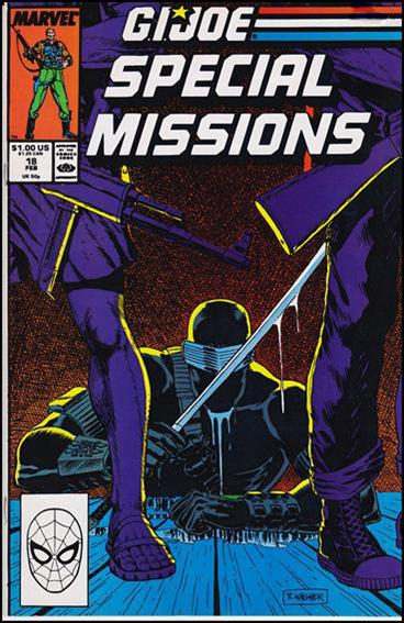 G.I. Joe: Special Missions (1986) 18-A by Marvel