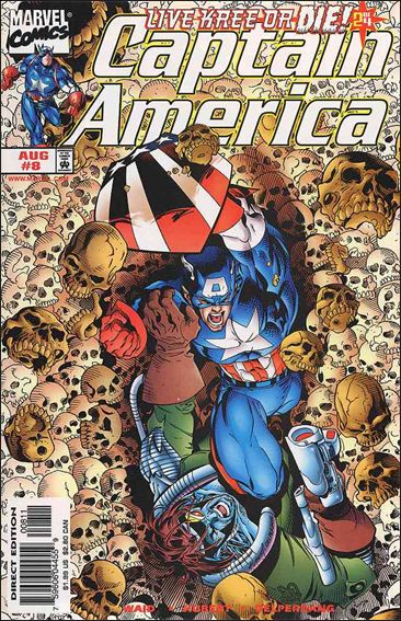 Captain America (1998) 8-A by Marvel