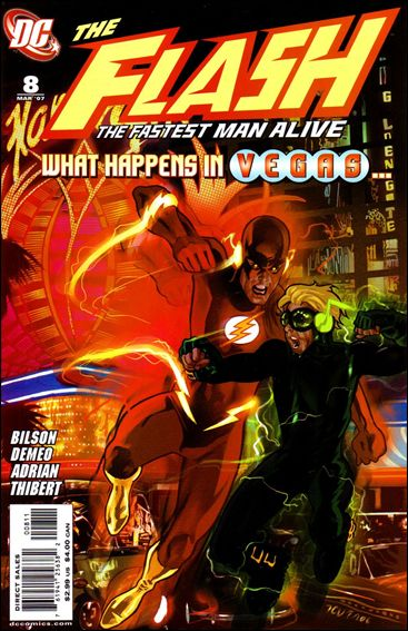 Flash: The Fastest Man Alive 8-A by DC