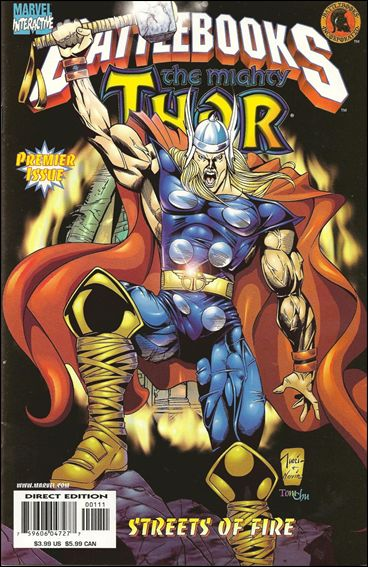 Thor Battlebook: Streets of Fire 1-A by Marvel