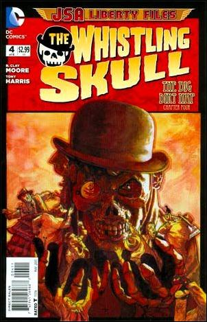 JSA Liberty Files: The Whistling Skull 4-A by DC