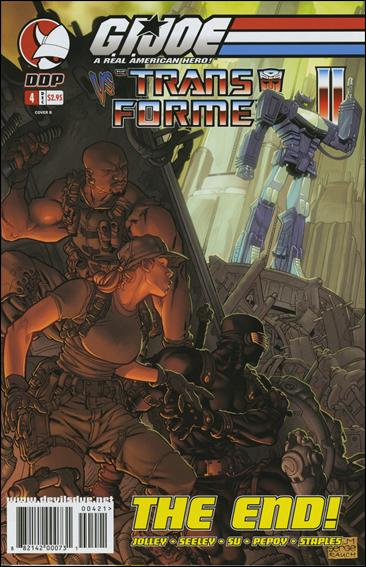 G.I. Joe vs the Transformers (2004) 4-B by Devil's Due