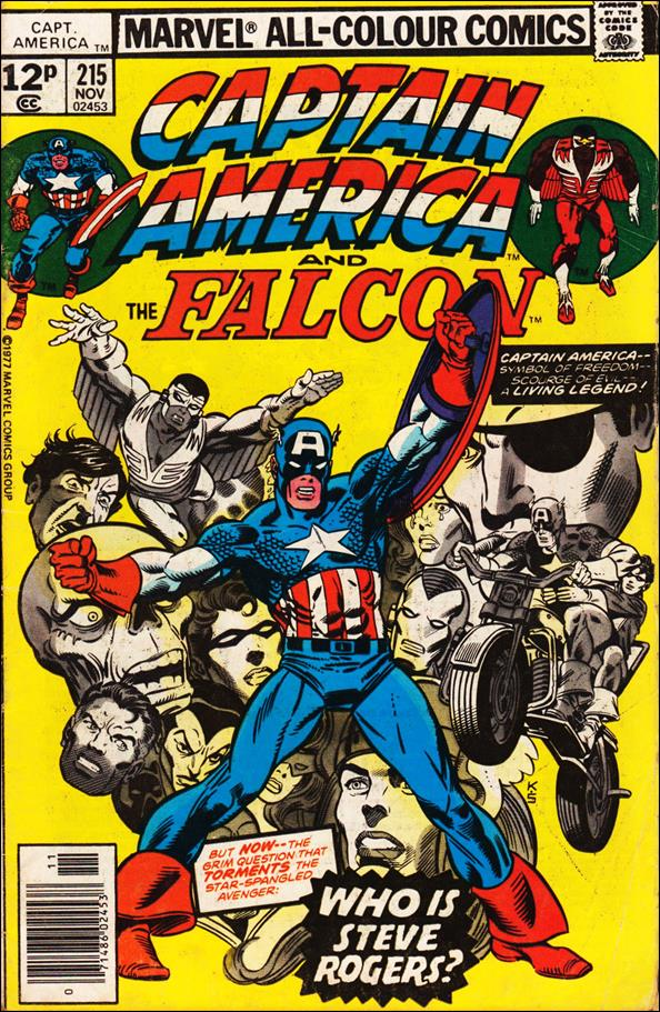 Captain America (1968) 215-B by Marvel