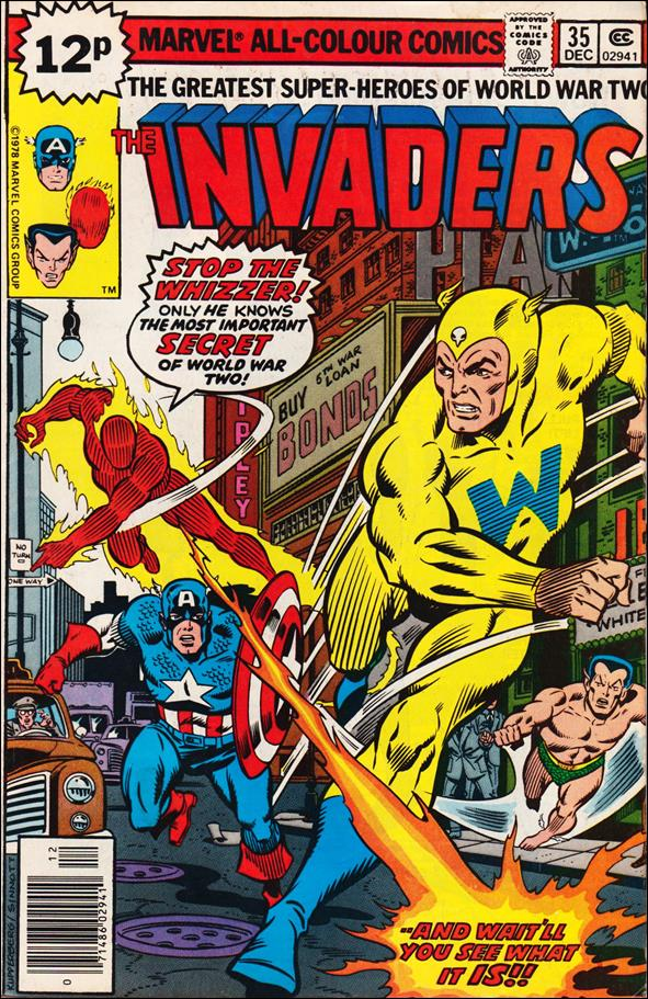 Invaders (1975) 35-B by Marvel