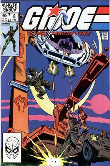 G.I. Joe: A Real American Hero 8-A by IDW