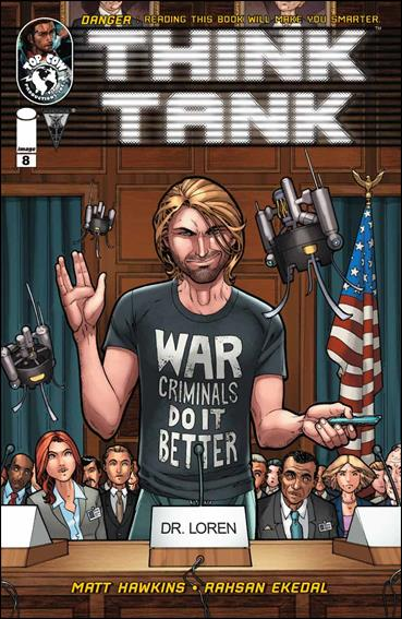 Think Tank 8-A by Top Cow