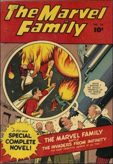 Marvel Family 36-A by Fawcett