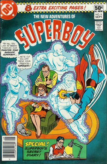 New Adventures of Superboy 9-A by DC