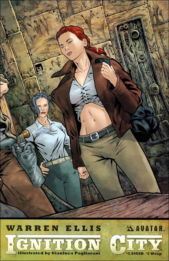 Warren Ellis' Ignition City 2-B by Avatar Press