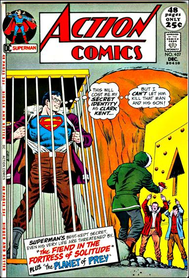 Action Comics (1938) 407-A by DC