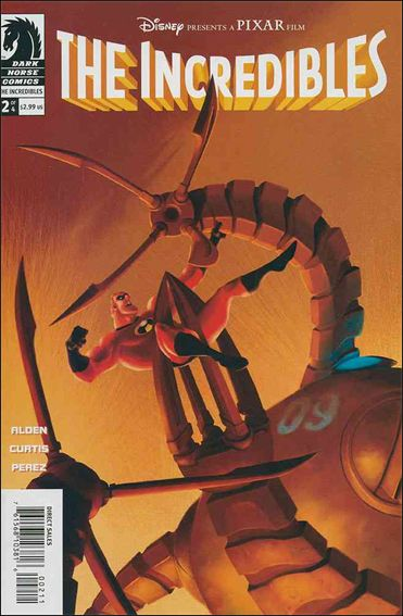 Incredibles (2004) 2-A by Dark Horse