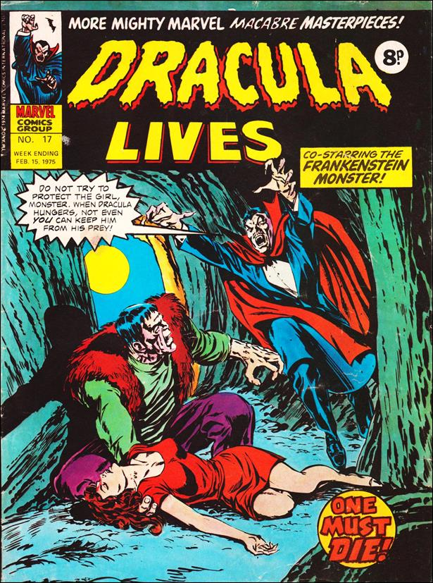 Dracula Lives (UK) 17-A by Marvel UK