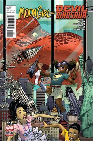 Moon Girl and Devil Dinosaur 8-A