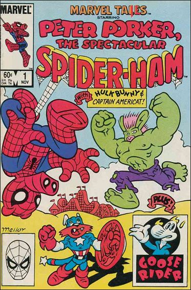 Marvel Tails Starring Peter Porker the Spectacular Spider-Ham 1-A by Marvel