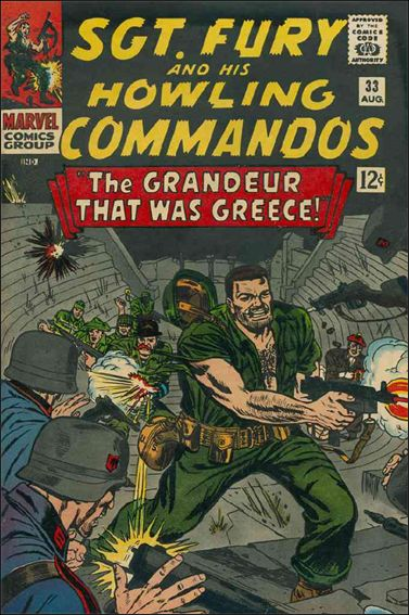 Sgt. Fury and His Howling Commandos 33-A by Marvel