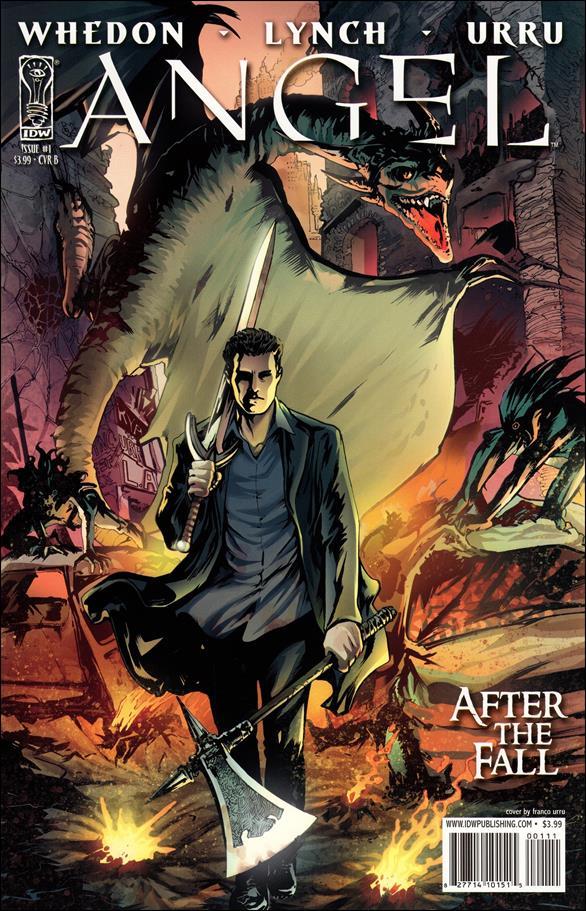 Angel: After the Fall 1 B, Nov 2007 Comic Book by IDW  Gwen Raiden Comic