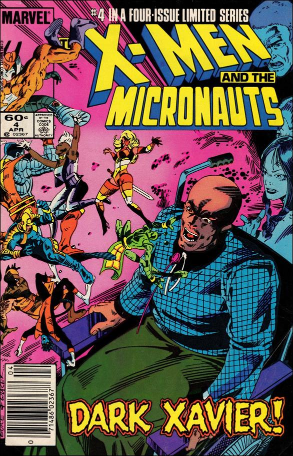 X-Men and the Micronauts 4-A by Marvel