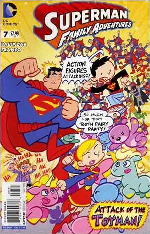 Superman Family Adventures 7-A by DC